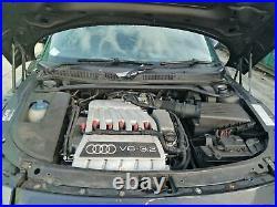 2003 Audi Tt 8n 3.2 Petrol V6 (bhe) 4wd Quattro 6 Speed Automatic Gearbox Gyu