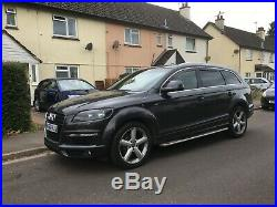 56 Audi Q7 3ltr V6 S Line Automatic/triptronic Gearbox 7 Seater Many Extras
