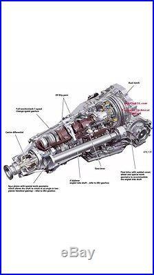 Audi A4 A6 A5 Q5 Cvt Multitronic Automatic Gearbox Repair 2008-2015 Ecu B8 8t 8k