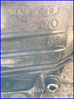 AUDI A4 CVT AUTOMATIC GEAR BOX No Ecu 01J301383S