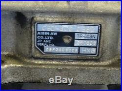 AUDI Q7 4L 3.0TDI quattro 6 Speed Automatic Gearbox Transmission Type Code HXG