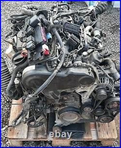 Audi A4 A5 2.0 Tdi Lla 8 Speed Automatic Gearbox Complete With Caga Engine