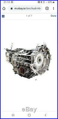 Audi A6 C6 2004-2008 2.0 Tdi Cvt Jql Automatic Gearbox