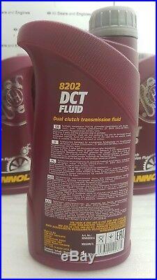 Audi q5 automatic gearbox s tronic dsg oil 7L dct filter service kit 0b5 dct
