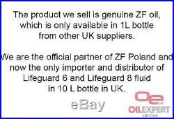 Automatic Transmission Fluid ZF Lifeguard 8 (10L) Audi