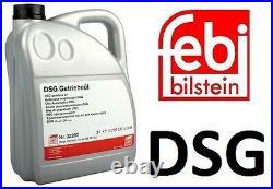 Dsg Automatic Gearbox Transmission Oil 5l Febi 32390 Vw Audi Seat Skoda Yellow