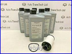 Genuine Vw Audi Seat Skoda Dsg 6 Speed Automatic Gearbox Oil 6l Filter Dq250 Kit