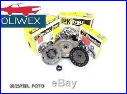 LUK ZMS + Kupplung + Ausrücklager 600 0016 00 AUDI VW 1.9 TDI 105 PS 600001600