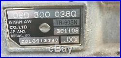 Vw Touareg Audi Q7 3.0 07 Diesel 6 Speed Auto Gearbox Jxx 09d300038q